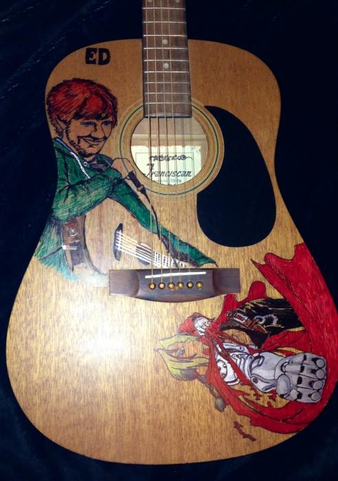 Ed Sheeran par Josettefarrell